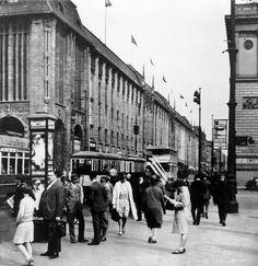 Germany, Berlin. Wertheim Department Store. Around 1928