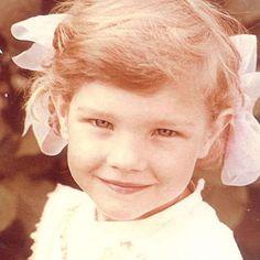 Natalia Vodianova in childhood,