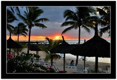 WATCHING THE SUNSET - grand bay, Riviere du Rempart - Mauritius