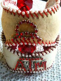 Custom Baseball Cuffs, BCuff, Original, Lisa Kettell | MoonfairesWorld - Jewelry on ArtFire