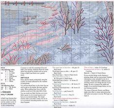 Ключ и схема вышивки Все спокойно (Dimensions) 4 из 4