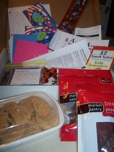 Care Package Ideas: What are some of your favorite ideas? resources? home-made items that were a success and store bought items that were a touch of home?