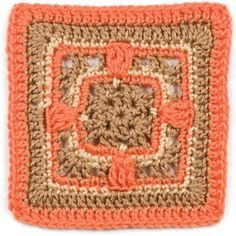"""November, part of Crochet's FREE Afghan Block of the Month. Get the download here: http://www.crochetmagazine.com/crochet_block.php?id=9  """"Like"""" the Crochet Facebook page so you don't miss a single monthly installment: https://www.facebook.com/CrochetMagazine"""