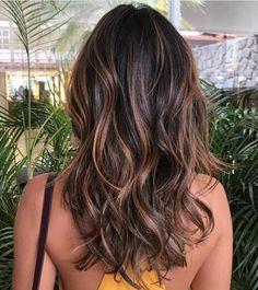 Brown Ombre Hair, Brown Hair Balayage, Brown Blonde Hair, Light Brown Hair, Brown Hair Colors, Brunette Hair, Brunette Color, Coffee Brown Hair, Coffee Hair