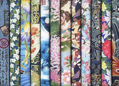 12 Blue Asian Japanese Oriental Fat Quarter Quilt Fabric Bundle: 3 Yards  | eBay