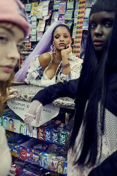 Rihanna for Paper Magazine