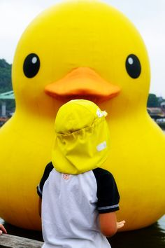 Rubber Duck at Onomichi (ラバーダック@尾道)