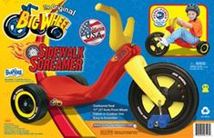 Kids' Tricycles - The Original Big Wheel 11 SIDEWALK SCREAMER Tricycle MidSize RideOn ** Read more at the image link.