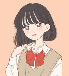 Pretty Art, Cute Art, Digital Art Beginner, Anime Monochrome, Simple Anime, Aesthetic Photography Grunge, Kawaii Illustration, Manga Cute, Cool Stuff