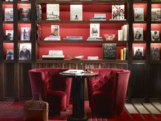 Mayfair, London | Claridge's | Luxury Hotel Design | Library
