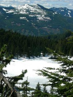 Alaska Lake Snowshoe — Washington Trails Association