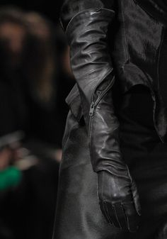 Dystopian Post-Apocalyptic Mecha Nomad Futuristic for cosplay ideas   Ann Dem FW12 Glove Detail