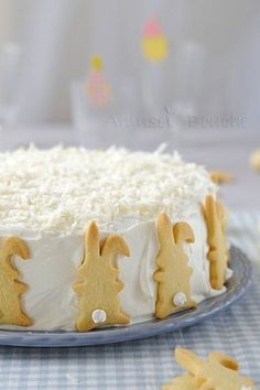 Easter coconut cake - Gâteau coco passion