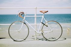 Ride a bike to the beach today