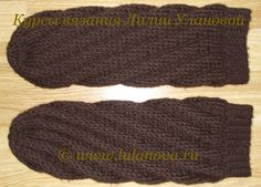 спиральные носки крючком