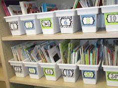 Walmart ice buckets!!  Book bins!