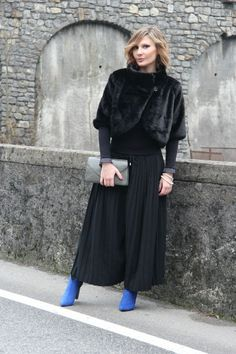 Wearing black to look slim – Il nero snellisce (Fashion Blogger Outfit)