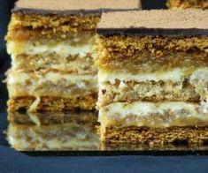 "Ciasto ""Jesienny Poemat"" - #ciasto #jesienny #poemat Polish Cake Recipe, Polish Recipes, Polish Food, No Bake Desserts, Tiramisu, Banana Bread, Cake Recipes, Sweet Tooth, Food And Drink"