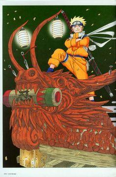 Naruto Uzumaki ArtBook 1 - 093