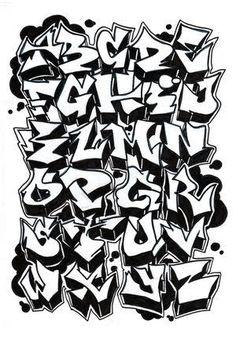 Resultado de imagen para graffitis letras