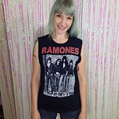 Bravado Ramones Black Punk Band Tank Gabba Gabba Hey everyday 😝  💌Ready to ship! 📦 Same~day shipping!📬  Please, read shop policies & thank you for looking 💖 Urban Outfitters Tops Tank Tops