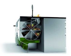 Sustainable Design Ideas for Eco Kitchens of the Future from Le Faltazi Lab