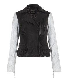 Albany Biker Jacket, Donna, Pellami, AllSaints Spitalfields