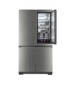 Top Freezer Refrigerator, French Door Refrigerator, Freestanding Fridge, French Doors, Kitchen Appliances, Life, Diy Kitchen Appliances, Home Appliances, Kitchen Gadgets