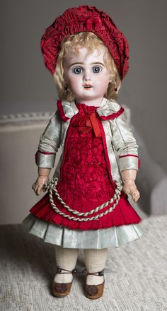 "16"" (40 cm) Antique French Jumeau Bebe Doll"