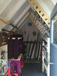 Boat Shed, Life Jackets, Lake Side, Boathouse, Landscaping Ideas, Lake  Houses, Knights, Garage, Cabin