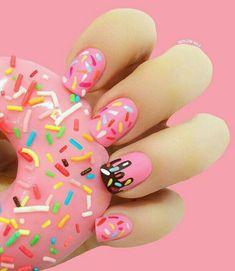 Cute gel nails colors for Trendy Manicure - Spring Nails Cute Gel Nails, Short Gel Nails, Cute Nail Art, Diy Nails, Pretty Nails, Cute Kids Nails, Trendy Nail Art, Easy Nail Art, Gorgeous Nails