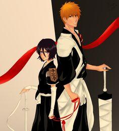 Ichigo + Rukia