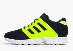 adidas Originals ZX Flux 2.0 – Black – Solar Yellow