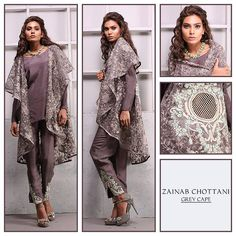 Zainab Chottani Luxury Pret & Formal Dresses 2016-2017 Collection (13)
