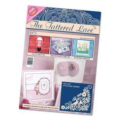 Tattered Lace Magazine Issue 9 Stephanie Weightman Free Little Bird Corner Die