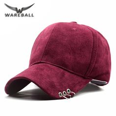 [WAREBALL] Fashion New Gd Unisex Solid Ring Safety Pin curved hats Baseball Cap Men Women Suede Snapback Hats casquette gorras Sun Hats For Women, Hats For Men, Moda China, Silk Kurti Designs, Outfits With Hats, Cute Hats, Girls Accessories, Snapback Hats, Sneakers Fashion