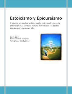 Estoicismo y Epicureísmo. El objetivo principal de ambas escuelas es la moral; esto es, la ordenación de la conducta humana de modo que sea posible alcanzar una…