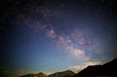 A night sky like this makes me miss the mountains
