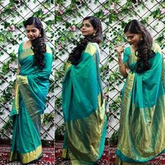 Sajna Bridal Wear Designer (@sajna_bridal_wear_designer) • Photos et vidéos Instagram Designer Wear, Ready To Wear, Sari, Indian, Stitch, Bridal, Photos, Instagram, How To Wear