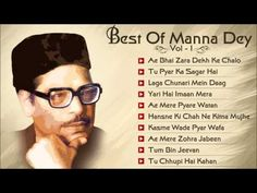 ▶ Hits Of Manna Dey - Old Bollywood Songs - Audio Jukebox - Vol 1 - Best Of…