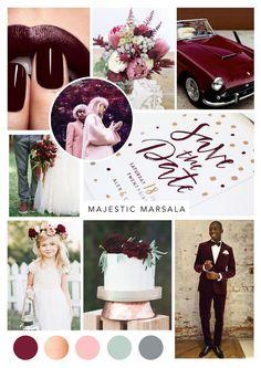 marsala-burgundy-maroon-wedding-inspiration. Wedding stationery by www.theoldmarketprintingco.com