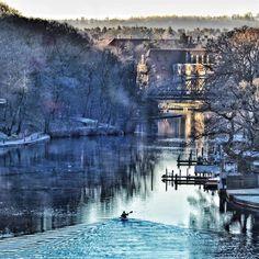 Winter Morning in Silkeborg | Denmark | Photography by Bjørn Bæk