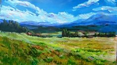 10:47 Acrylics: How to Paint a complete Landscape with acrylics: Painting Tech...