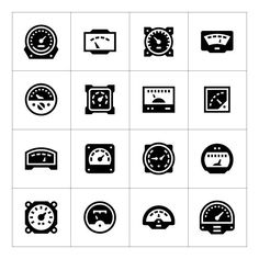Set icons of meter. $5.00