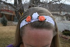 Check out this item in my Etsy shop https://www.etsy.com/listing/221039092/rose-headband-adult-headband-youth