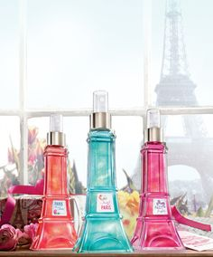 PARTY eiffel tower paris fragrances bath and body works Bath Body Works Limited Edition Eiffel Tower Shimmer Mists Bath N Body Works, Bath And Body, Neutrogena, Perfume Body Spray, Body Love, Body Mist, Smell Good, Mists, It Works