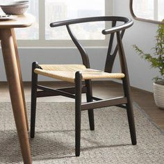 Mistana Dayanara Solid Wood Slat Back Dining Chair Formal Dining Tables, Solid Wood Dining Chairs, Upholstered Dining Chairs, Dining Chair Set, Dining Room Chairs, Outdoor Dining, Dining Area, Desk Chairs, Elegant Dining