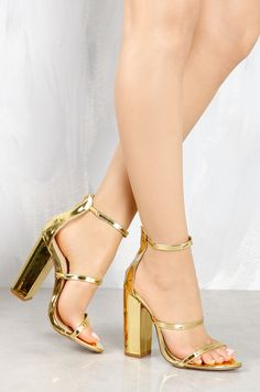 Lola Shoetique - Step Above - Gold, $31.99 (http://www.lolashoetique.com/step-above-gold/)