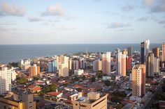 João Pessoa Brazil.The capital city of Paraíba, João Pessoa is in easy reach from the land and sea. João Pessoa is the easternmost city in Brazil and is one of the greenest cities in the world. Unfortunately, the city has high homicide rate due to the generally violent crime found across Brazil. With 71.59 homicides per 100,000 residents, it's definitely not one of the best places to visit on your vacation.