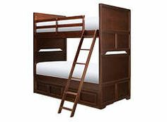 Wrenn Twin Over Twin Storage Bunk Bed @Raymour And Flanigan